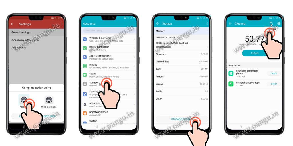 frp locked Open Settings in Huawei Honor Y9JKM-LX2