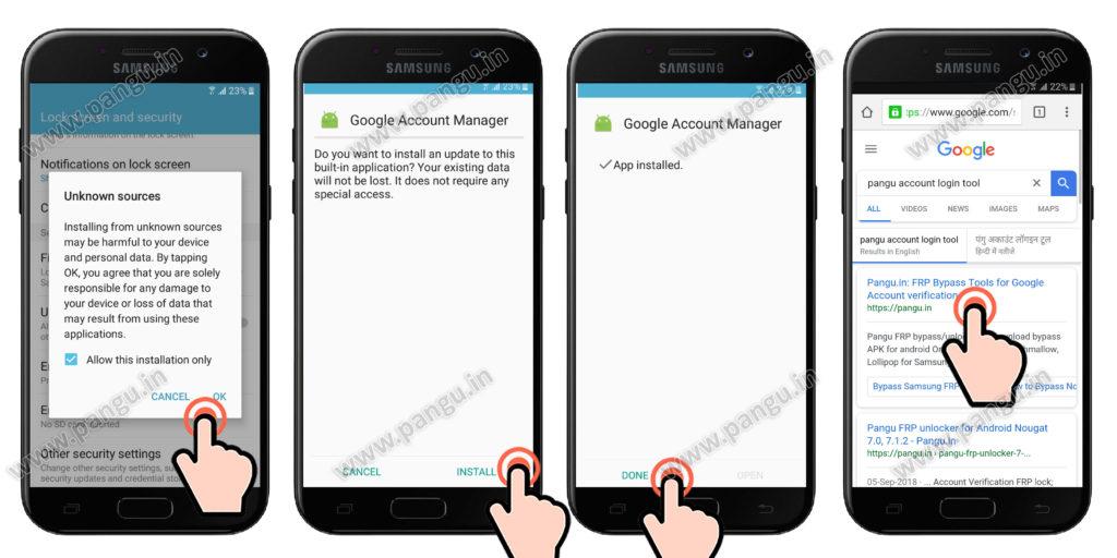 FRP Samsung Galaxy J5 Prime (J500F J510MN, G570f, G570M