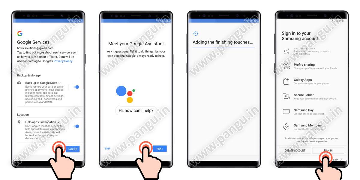 Galaxy Note 9 Remove FRP Google Account N960F N960U N960N
