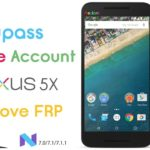 LG NEXUS 5X 8.0 OREO FRP BYPASS Latest (Patch Level).
