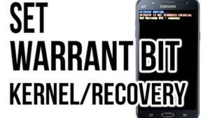 Set warranty Bit Kernel/Recovery