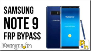 FRP bypass Samsung Galaxy Note 9 N960 Combination ROM